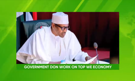 We don Do Ogbonge Work For Dis Economy: Federal Government