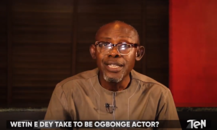 "Chris Akwarandu – ""If You No Go School, You No Fit Be Ogbonge Actor!"""